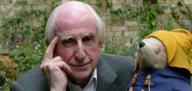 Michael Bond dashes through Paddington Bear movie