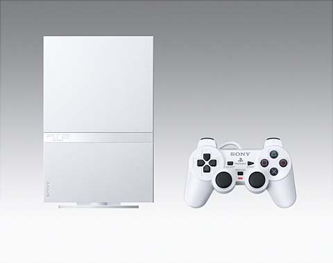 Ceramic White PlayStation 2 Coming To The United States