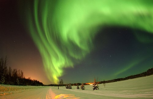 Aurora Borealis likely this evening