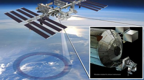 On September 20th, NASA launches ISS-RapidScat