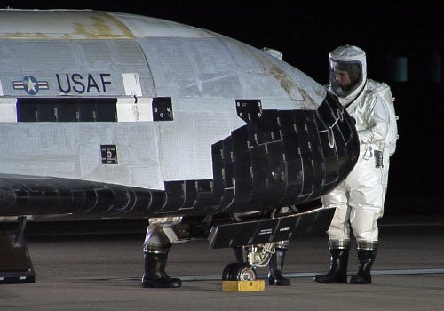 Mystery surrounding Pentagon's space plane