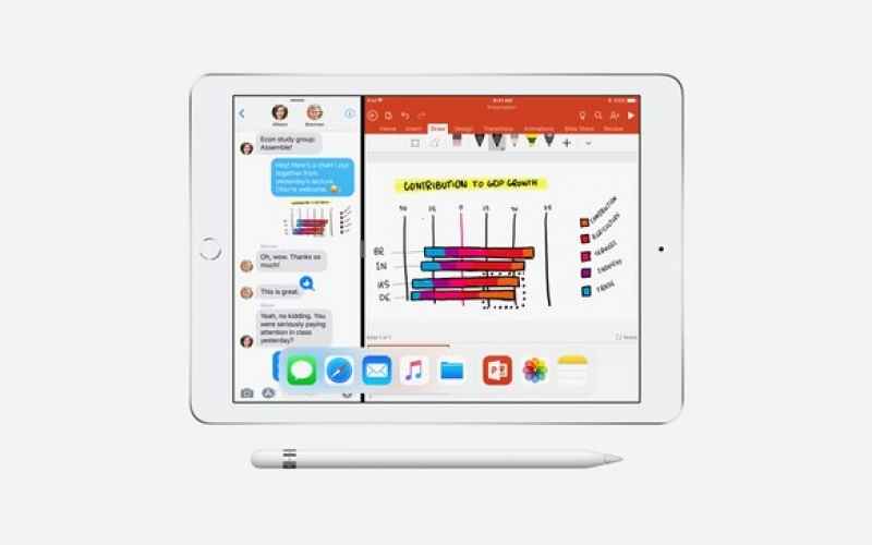 Apple's new cheaper iPad supports Pencil stylus for classroom use