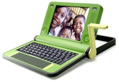 OLPC Give 1 Get 1 Program Gets In Gear