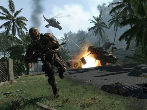 Crysis Multiplayer: Differences Between DirectX9 And DirectX10
