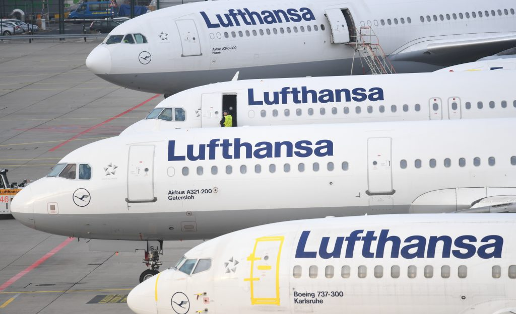 Lufthansa flights cancelled in German public sector strike